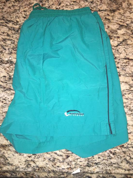 Givenchy Givenchy Vintage Teal Bathing Suit / Athletic Shorts Size US 37