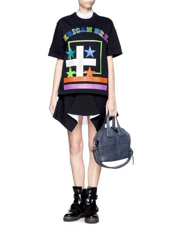 Givenchy $800 Givenchy American Dream Rottweiler Cropped Sleeve Pullover Sweater size S Size US S / EU 44-46 / 1 - 3