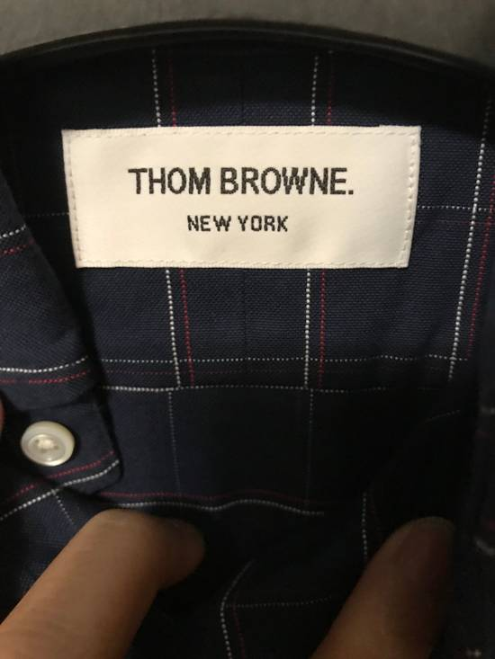 Thom Browne Plaid Shirt Size US XS / EU 42 / 0 - 3