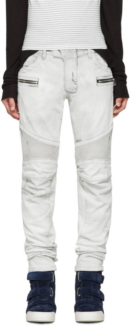 Balmain NWT, THE BEST! Biker Jeans (WAS $1650) - RUNS SMALLER Size US 36 / EU 52 - 1