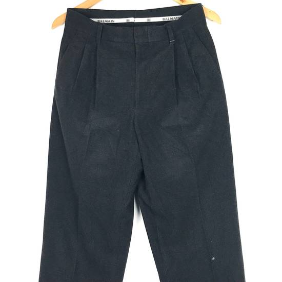 Balmain Black Balmain Slack Pant Cotton Pant Casual Pant Size US 29 - 2