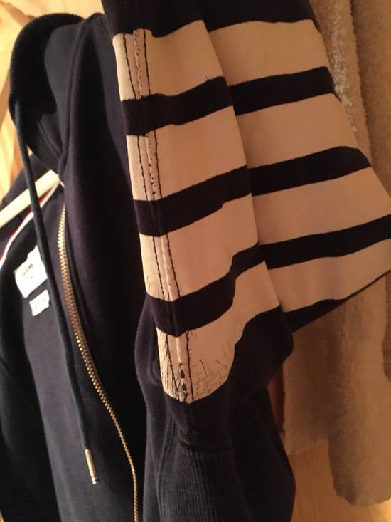 Thom Browne Thom Browne Classic Striped Navy Blue Hoodie Size US L / EU 52-54 / 3 - 4