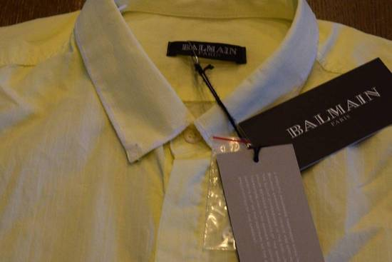Balmain Balmain $590 Men's Casual Shirt Size 39 Brand New With Tags Size US M / EU 48-50 / 2 - 1
