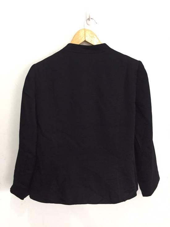 Givenchy Black Pleated Light Button Jacket Size US S / EU 44-46 / 1 - 1
