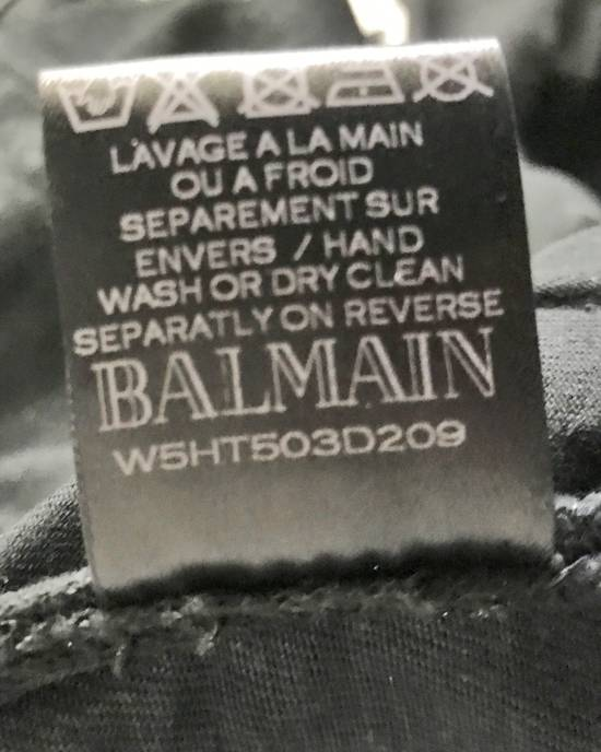Balmain Brand New Biker Coated Jeans Size US 30 / EU 46 - 9