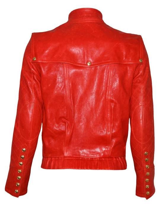Balmain Layered Biker Leather Jacket Size US M / EU 48-50 / 2 - 2