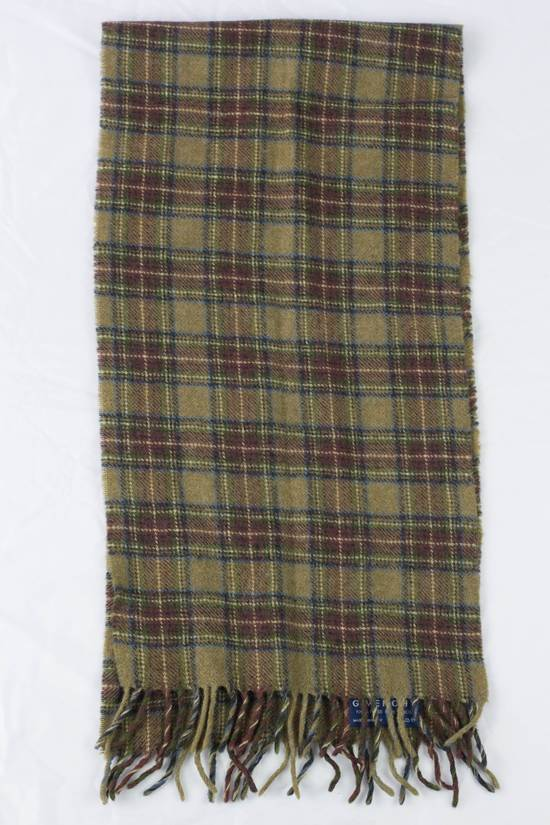 Givenchy GIVENCHY Wool Scarf Plaid Size ONE SIZE - 3