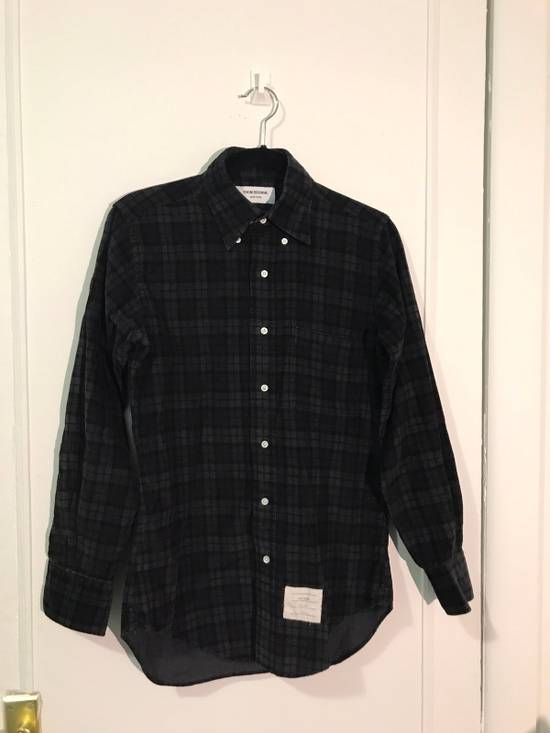 Thom Browne Thom Browne Black&Brown Flannel Size US S / EU 44-46 / 1
