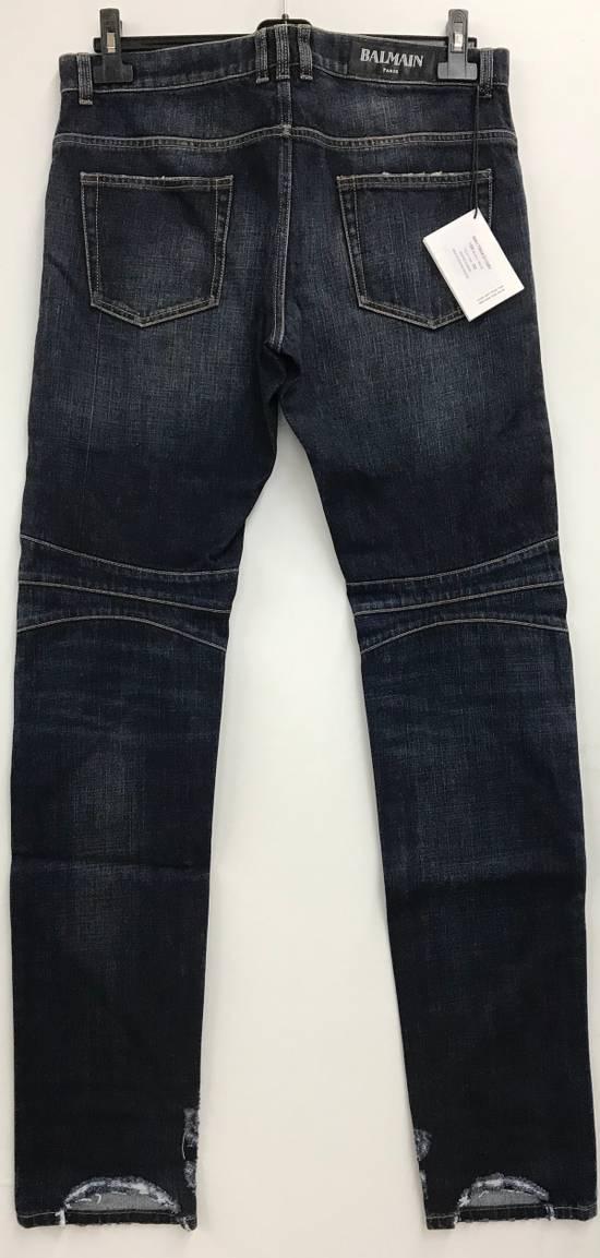 Balmain Balmain Biker Jeans Size 32 Model S6HT504D109V MADE IN ITALY Size US 32 / EU 48 - 4