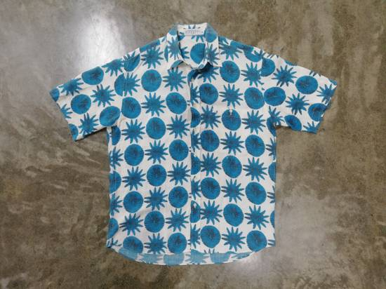 Givenchy Aqua Pattern S/S Shirt *Final Drop* Size US L / EU 52-54 / 3