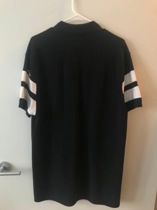 Givenchy White Stripe Black Polo Size US L / EU 52-54 / 3 - 1