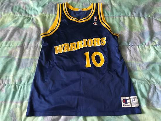 quality design 1a3a0 79d63 Champion Golden State Warriors Tim Hardaway Jersey