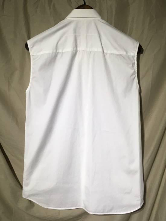 Givenchy SS13 WHITE COLLAR DETAILED SHIRT Size US XS / EU 42 / 0 - 5