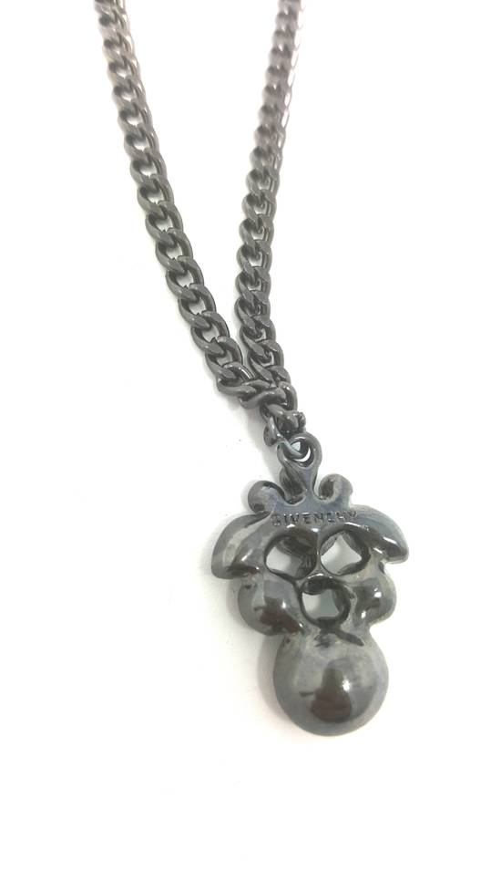 Givenchy Double sided gun metal necklace Size ONE SIZE - 1