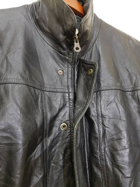 Balmain Authentic Pierre Balmain Riding Bomber Leather Jacket Size US L / EU 52-54 / 3 - 24