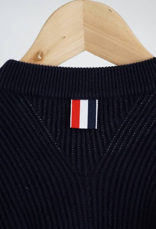 Thom Browne Blue 4-striped Knitted Sweater Size US M / EU 48-50 / 2 - 7