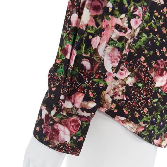 Givenchy GIVENCHY Pre14 reversed panel rose floral digital print cotton shirt US40 FR50 Size US M / EU 48-50 / 2 - 10