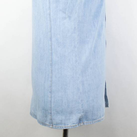 Balmain Denim Embroidered Button Down Casual Shirt Size 15.5 US 39 EU Size US XXS / EU 40 - 3