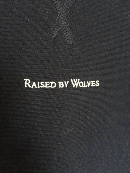 Raised By Wolves Micrologo Pocket Crewneck in Indigo/Navy Size US M / EU 48-50 / 2 - 4
