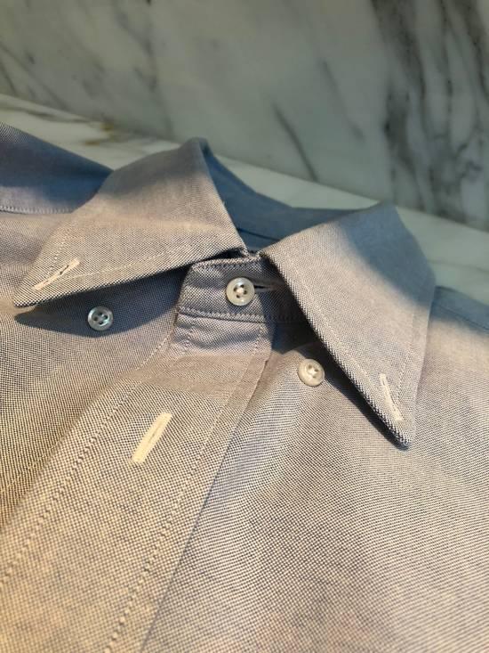 Thom Browne Thom Browne Armband Shirt Blue Size 3 Size US L / EU 52-54 / 3 - 4