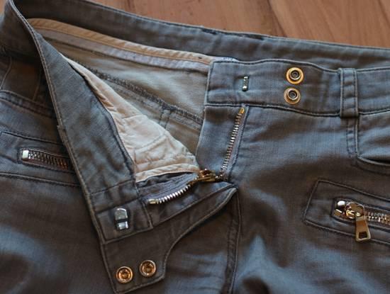 Balmain Stretch Denim Cotton Biker Jeans Size US 26 / EU 42 - 9
