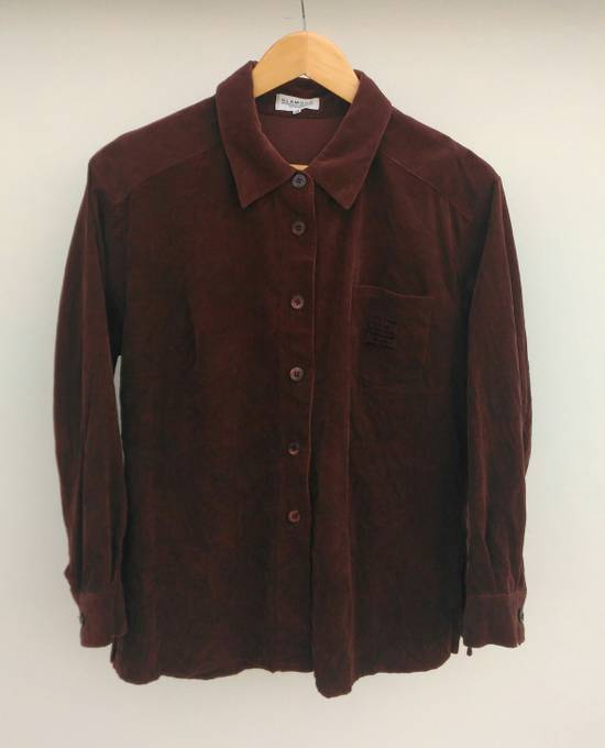 Givenchy Vintage Glamour by Givenchy Corduroy Long sleeve Shirt Size S Small Tags: Gucci, Prada, Balenciaga, Hermes, Louis Vuitton, Kenzo Size US S / EU 44-46 / 1
