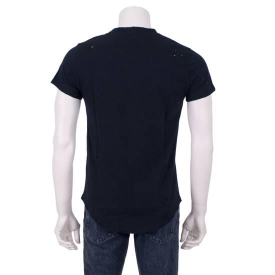 Balmain SS18 Black Cotton Balmain Velvet Logo Print Tshirt Size US S / EU 44-46 / 1 - 5