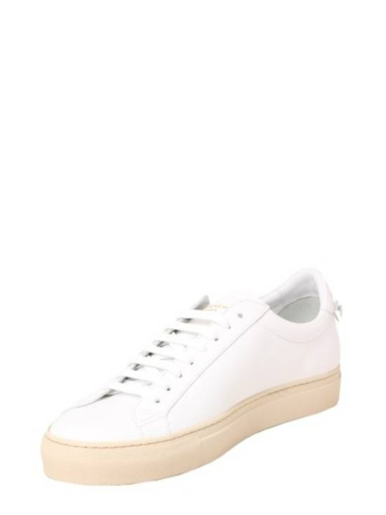 Givenchy Paris White Leather Sneakers Size US 12 / EU 45 - 1