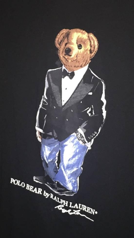 Polo Ralph Lauren Ralph Lauren Polo Bear Black Tuxedo Bear Long Sleeve T-Shirt Size US XL / EU 56 / 4 - 1