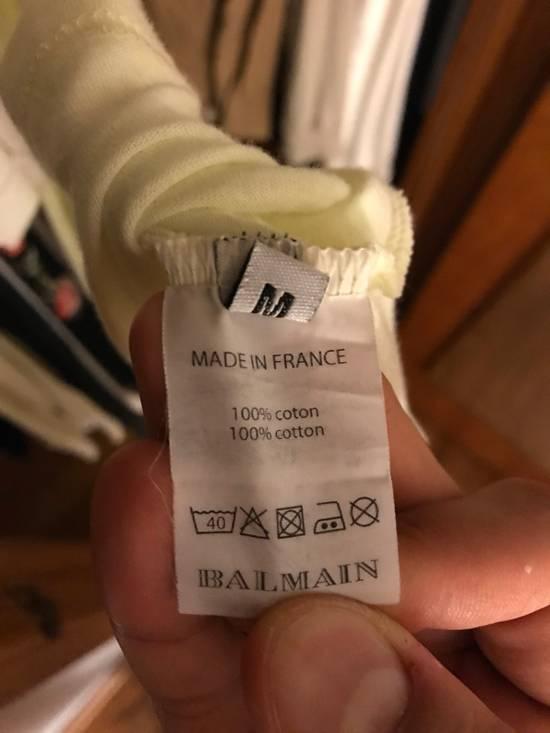 Balmain Henley Long Sleeve Balmain Tee Size US M / EU 48-50 / 2 - 3