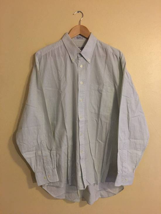 Givenchy Green Long Sleeve Button Up Shirt Size US L / EU 52-54 / 3