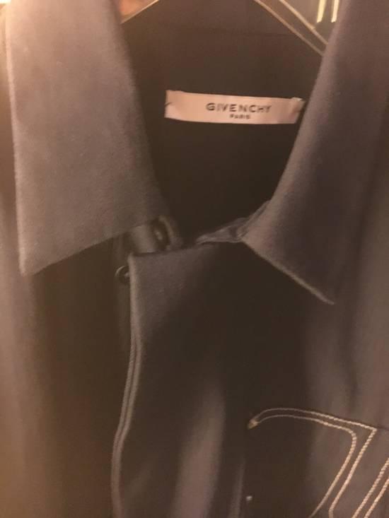 Givenchy Givenchy Dark Blue Shirt Size US M / EU 48-50 / 2 - 1