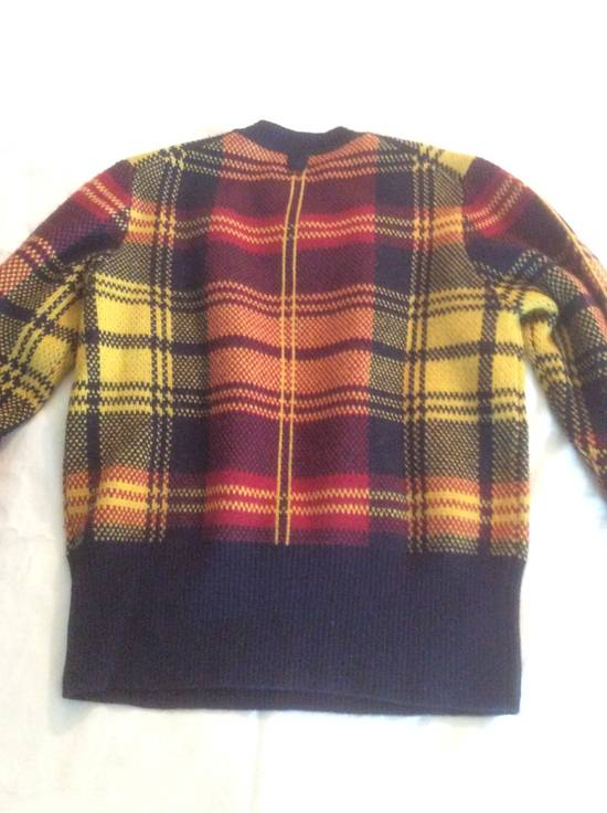 Thom Browne Plaid Black TB/BB Fleece Sweater Size US S / EU 44-46 / 1 - 1
