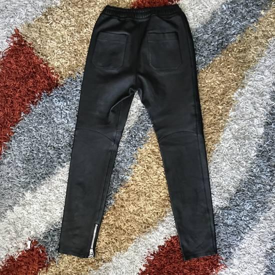 Balmain Leather Bikers Size US 32 / EU 48 - 2