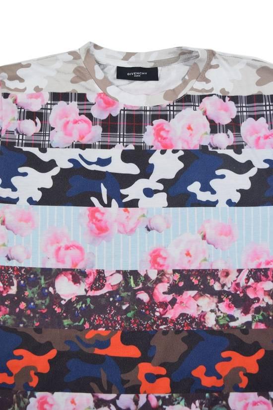Givenchy Camo Floral Paneled Tee Size US S / EU 44-46 / 1
