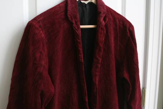 Julius AW03 Blood Red Velvet Blazer Size US M / EU 48-50 / 2 - 1