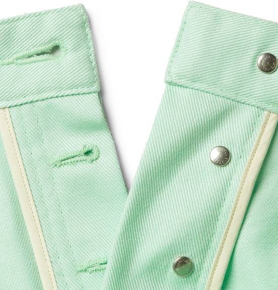 Thom Browne Mint Green Jeans Size US 31 - 3