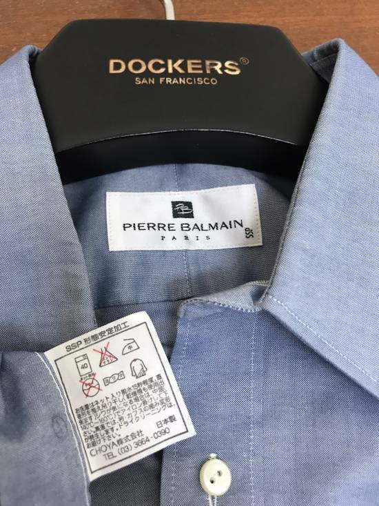 Balmain Pierre Balmain Paris Plain Button up Shirt Made in Japan Size US M / EU 48-50 / 2 - 5