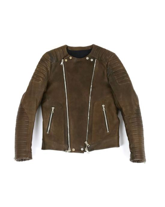 Balmain F/W 12 Leather Jacket Size US M / EU 48-50 / 2