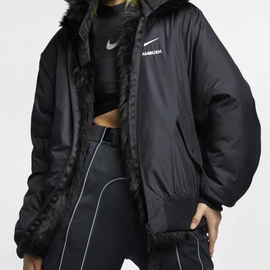 Nike Ambush X Nike Reversible Faux-fur Jacket In Black ...