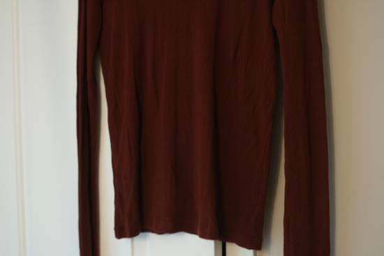 Julius FW08 Blood Red Cotton/Cashmere Rib L/S Size US S / EU 44-46 / 1 - 9