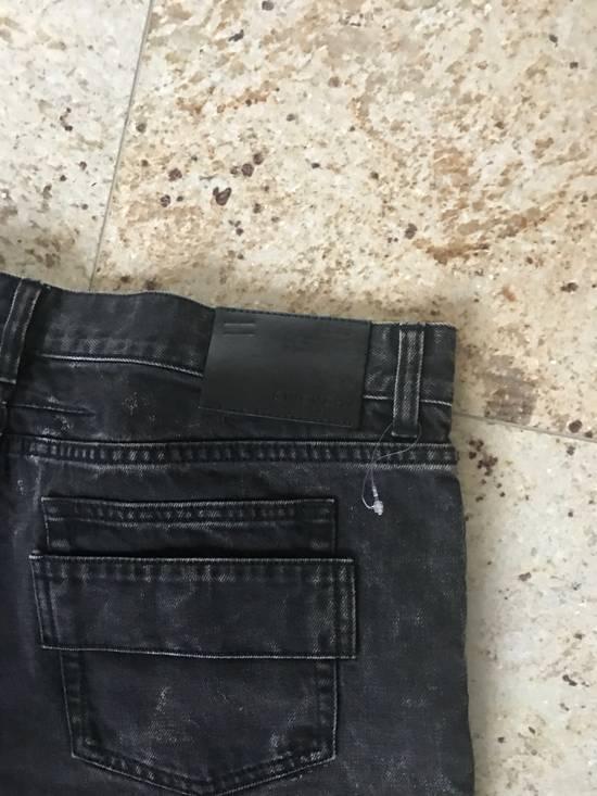 Givenchy Black Aged Denim Size US 38 / EU 54 - 6