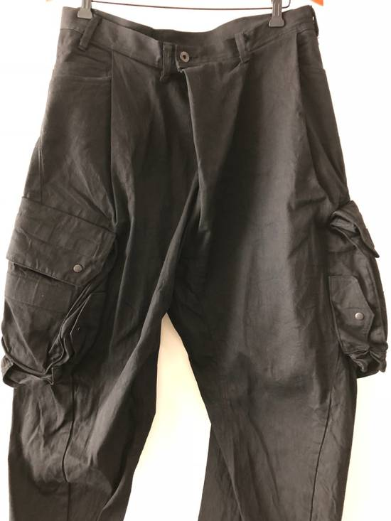 "Julius ""FINAL SALE"" NEW WITH TAG, GAS-MASK CARGO PANTS ""RARE"" Size US 34 / EU 50 - 6"