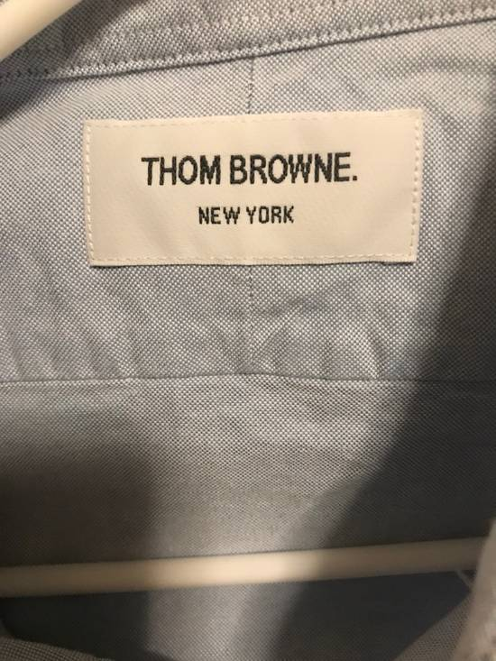 Thom Browne *NA only*Thom Browne Brand New Oxford Armbanded Shirt with original Packing Size US M / EU 48-50 / 2 - 1