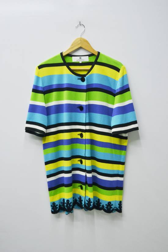 Givenchy Givenchy Shirt Givenchy T Shirt Givenchy Vintage Button Down Multicolor Striped Shirt Vintage Givenchy Glamour Made in Japan Womens Size 44 Size US M / EU 48-50 / 2