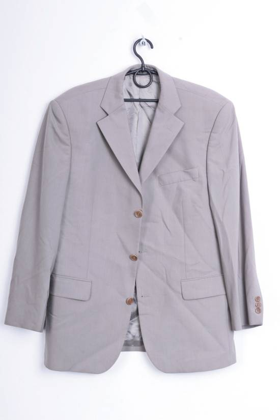 Balmain Balmain Mens 50 L/XL Blazer Wool Top Suit Green 6984 Size 50R