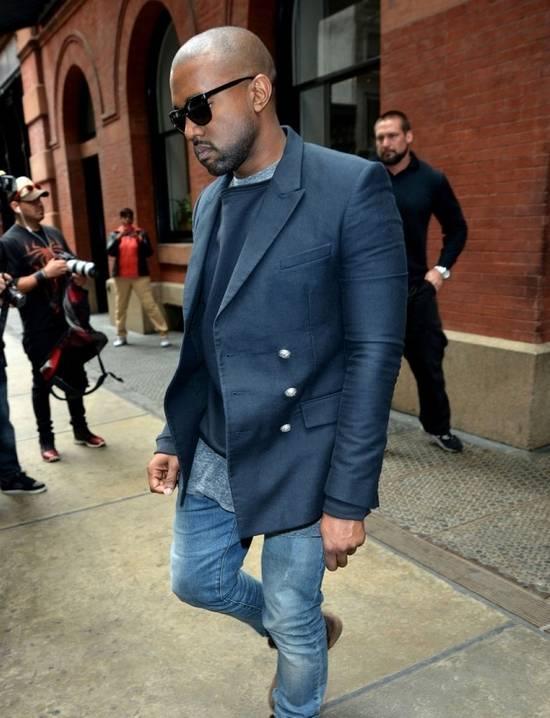 Balmain Balmain Navy Blazer Similar to Kanye Size US M / EU 48-50 / 2