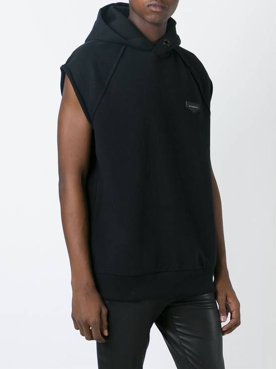 Givenchy Givenchy Leather Logo Patch Rottweiler Oversized Sleeveless Hoodie size S (L/XL) Size US S / EU 44-46 / 1 - 2