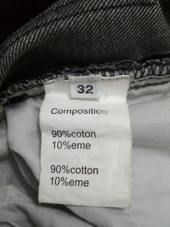 Balmain Authentic BALMAIN Dark Grey Slim Biker Stretch Denim Jeans Made in Italy Size US 32 / EU 48 - 14
