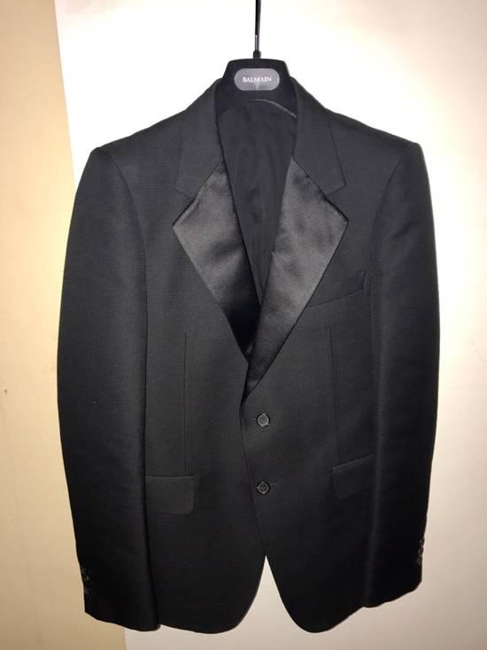 Balmain 3500$ Tuxedo Jacket Size 50R
